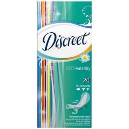 "Discreet прокладки ""Deo Water Lily "" ежедневные, 20 шт"