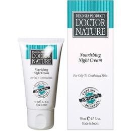 """Doctor Nature крем """"Питательный"""" ночной для жирной и комбинированной кожи, туба, 50 мл"""