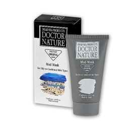 """Doctor Nature маска для лица """"Очищающая. Грязевая"""" для жирной и комбинированной кожи, 75 мл"""