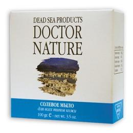 """Doctor Nature мыло солевое """"Мертвого моря"""", 100 г"""