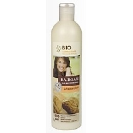 """Bio бальзам """"Блеск и сила"""" для всех типов волос, 400 мл"""