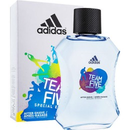 "Adidas лосьон после бритья ""Team Five"" + брелок, 50 мл"