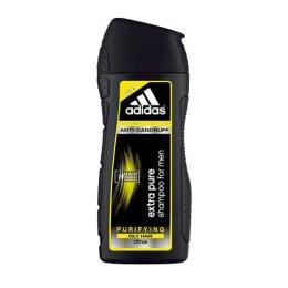 """Adidas шампунь """"Extra Pure Anti-Dandruff for Men"""" очищающий против перхоти с цитрусом для склонных к жирности волос, 200 мл"""