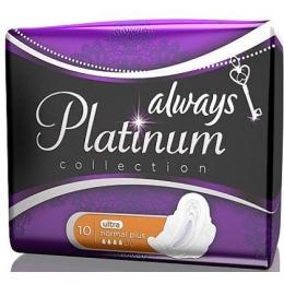 """Always прокладки """"Platinum collection. Ultra normal"""" гигиенические, 10 шт"""