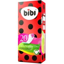 """Bibi прокладки """"Panty normal deo"""" ежедневные, ароматизированные, 20 шт"""