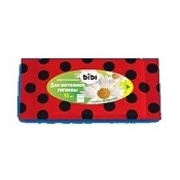 Bibi салфетки влажные для интимной гигиены, 15 шт