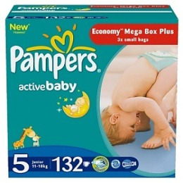 Pampers Active Baby 5 (11-18 кг)