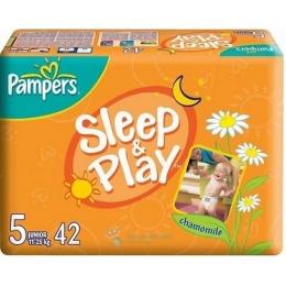 "Pampers подгузники ""Sleep play"" 11-25 кг, размер 5"