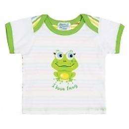 Курносики футболка с коротким рукавом, ярко-зеленая