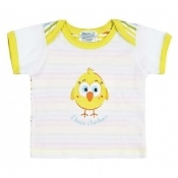 Курносики футболка с коротким рукавом, желтая