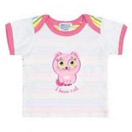 Курносики футболка с коротким рукавом, розовая