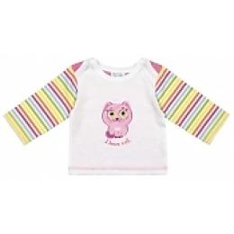 Курносики футболка с длинным рукавом, розовая