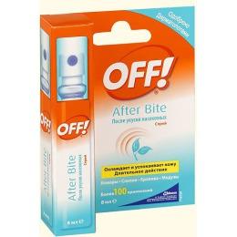 Off! спрей после укусов насекомых, 8 мл