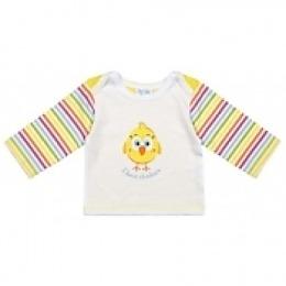 Курносики футболка с длинным рукавом, желтая
