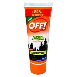"Off! крем ""Экстра Защита"" от комаров, 75 + 50 мл"