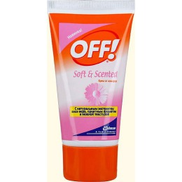 "Off! крем ""Soft&SCented"" от комаров, 50 мл"