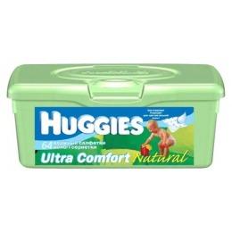 Huggies салфетки влажные детские ультра комфорт 64 шт