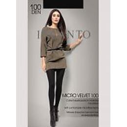 """Incanto колготки """"Micro velvet 100"""" nero"""