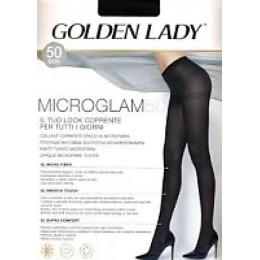 "Golden Lady колготки ""Micro glam 50"" marrone"