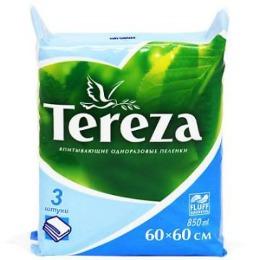 Tereza пеленки одноразовые, 3 шт