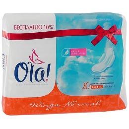 Ola прокладки толстые классические, 20 шт