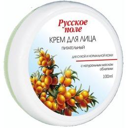 Русское поле крем для лица питательный для сухой и нормальной кожи с экстрактом облепихи, 100 мл