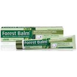"""Лесной бальзам зубная паста профилактическая """"Forest balm"""" курс питания и восстановления для дёсен 75 мл"""