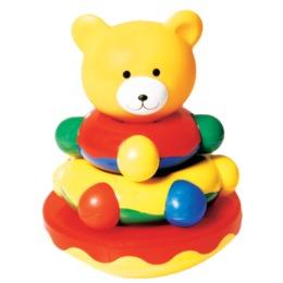 "Мир детства игрушка-пирамидка ""Мишка-топтыжка"""