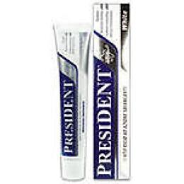 "President зубная паста отбеливающая ""Уайт"" 75 мл"