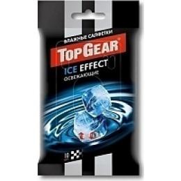 """Top Gear салфетки влажные освежающие """"Ice effect"""" 10 шт"""