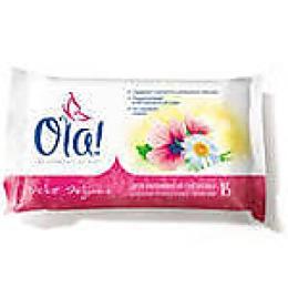 """Ola влажные очищающие салфетки для интимной гигиены """"Календула и алоэ"""", 15 шт"""
