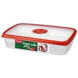 """Paclan прямоугольный двухсекционый контейнер """"Fresh life"""" с крышкой 610 мл"""