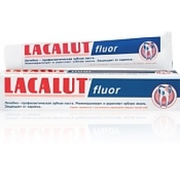 "Lacalut промо-набор зубная паста ""Флуор"" 75 мл + зубная паста актив 30 мл"