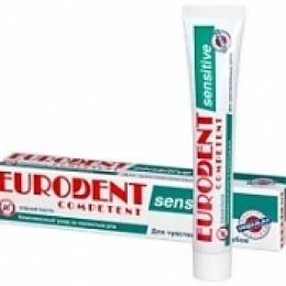 "Eurodent зубная паста ""Competent sensitive"", 75 мл"