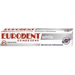 "Eurodent зубная паста ""Competent white"", 75 мл"