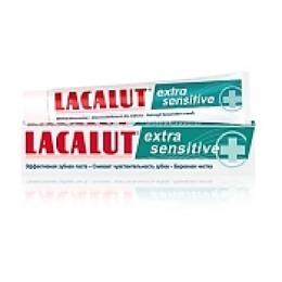 """Lacalut промо набор зубная паста """"Сенситив экстра"""", 50 мл + актив 30 мл"""