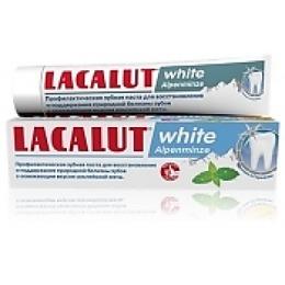 "Lacalut зубная паста ""Уайт альпийская мята"", 75 мл"