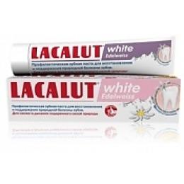 "Lacalut зубная паста ""Уайт эдельвейс"", 50 мл"