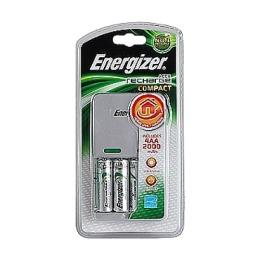 """Energizer зарядное устройство """"Compact charger + 4"""" пальцы 2000 mah"""