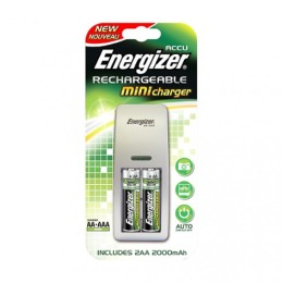Energizer mini Charger + Аккумулятор AA 2000mAh 2 шт NEW
