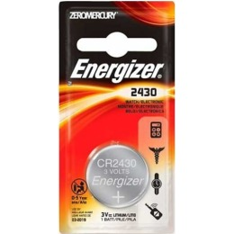 "Energizer батарейка литиевая ""Cr2430 pip1"""