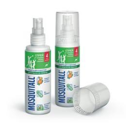"""Mosquitall спрей """"Защита для взрослых от комаров"""", 100 мл"""