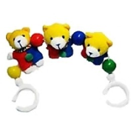 """Мир детства игрушка-подвеска """"Медвежата"""""""