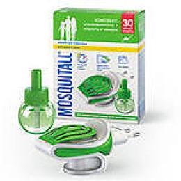 """Mosquitall комплект """"Защита для взрослых"""" электрофумигатор + жидкость 30 ночей от комаров 30 мл"""