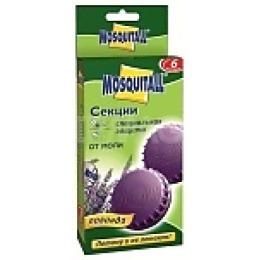 "Mosquitall секция инсектицидная ""Круглая защита от моли с ароматом лаванды"" 2 шт"