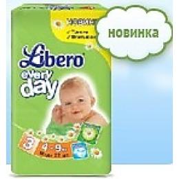 "Libero подгузники ""Every Day"" 4-9 кг"