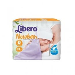 """Libero подгузники """"Newborn"""" до 2,5 кг"""