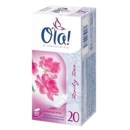 """Ola прокладки """"Бархатная роза"""" ежедневные, 20 шт"""