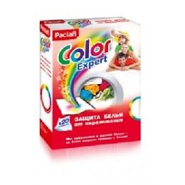 """Paclan салфетки для предотвращения окрашивания во время смешанной стирки """"Color expert"""", 20 шт"""