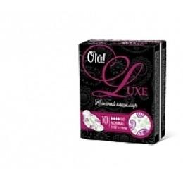 """Ola прокладки """"Luxe женские гигиенические ультратонкие"""" для нормальных выделений нежный кашемир 10 шт"""